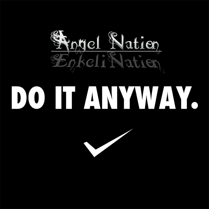 DO IT ANYWAY (Single) - Angel Nation